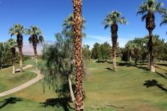 Uitzicht vanaf het hotelbalkon bij Marriott's Desert Springs Villas in Palm Desert