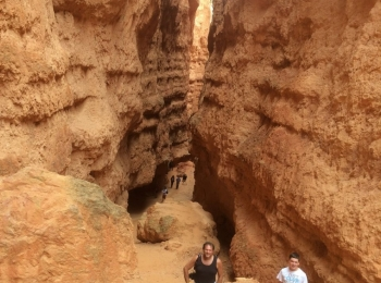 Wandelen in de Bryce Canyon