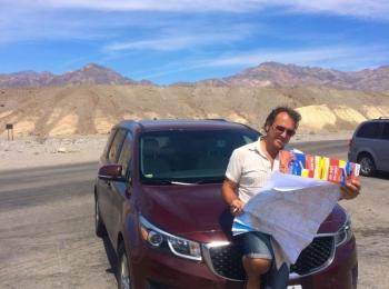 Autostop bij Zabriskie Point – Death Valley