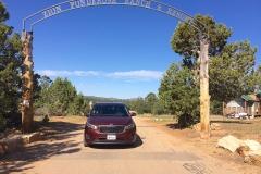 Gate to Zion Ponderosa Ranch