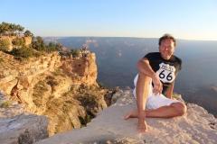 Zonsopkomst bij the Grand Canyon