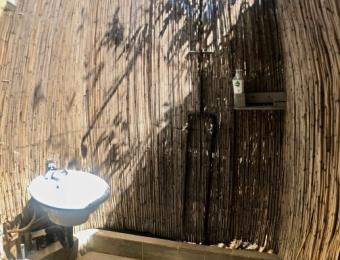 Shower-in-Nxabii-cottages