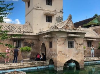 Taman Sari, het waterpaleis in Yokyakarta