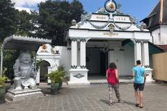 Ingang van Kraton Yogyakarta, het koninklijk paleis van de Sultan