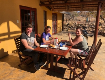 Lunchen in Silonque Bush Estate