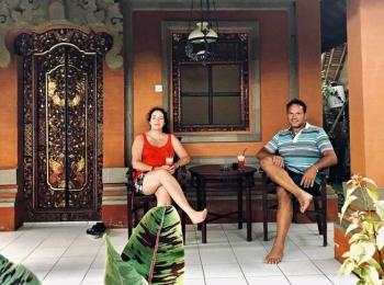 Baliness huisje in Kampung Ubud Hotel & Spa