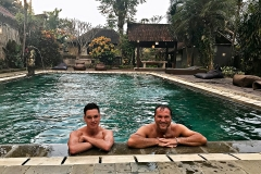 Zwembad in Kampung Ubud Hotel & Spa