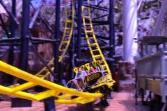 Rollercoaster in Circus Circus
