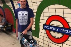 De subway bij Piccadilly Circus
