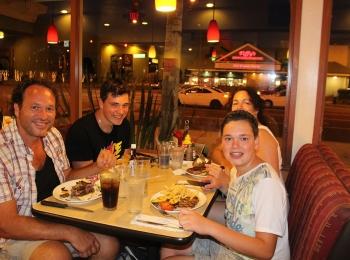 Eten bij Cocos-Bakery in Anaheim