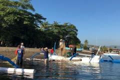 Vissersboten op Lovina Beach