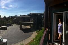 Balkon Juniper Lodge