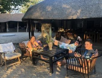 Ontspannen in Gweta Lodge