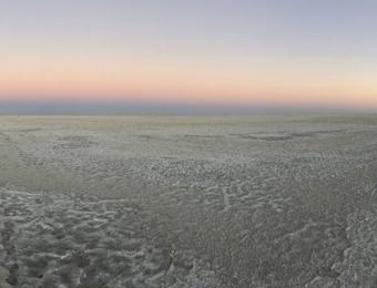 Ntwetwe pans panorama