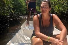 Boottocht in de Mangrove