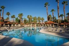 Zwembad bij Marriotts Desert Springs Villas