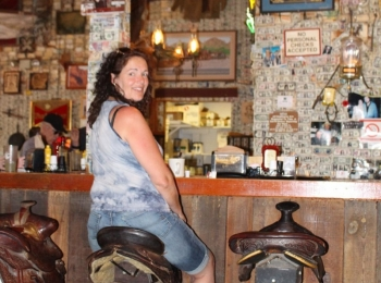 Saloon in Tortilla Flat