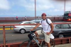 San Francisco – Fietsen op de Golden Gate Bridge