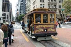 Oude trammetjes in San Francisco