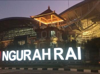 Ngurah Rai Airport in Denpansar