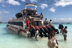 Met de ferry naar Nusa Lembongan
