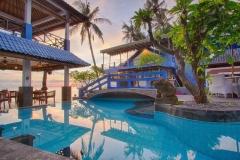 Lekker zwemmen in Matahari Tulamben Resort