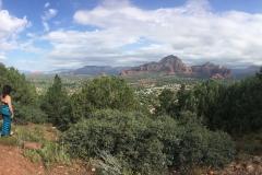 Uitzicht vanaf the Sky Ranch Lodge in Sedona