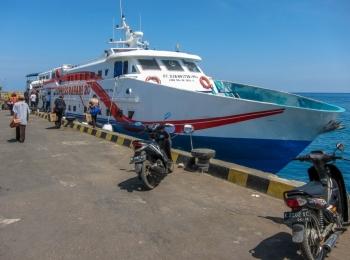 Met de fast ferry naar Karimunjawa