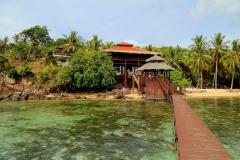 Breve Azurine Lagoon Resort op Karimunjawa ligt direct aan een koraalrif