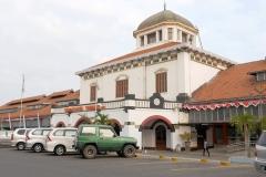 Treinstation in Semarang