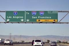 Interstate naar San Francisco