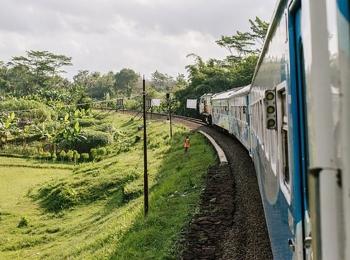Met de trein naar Surabaya