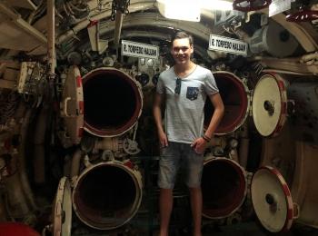 Torpedos in het SubmarineM onument