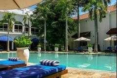 Zwembad in Hotel Majapahit