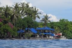 Matahari Tulamben Resort ligt direct aan zee