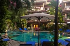 Zwembad bij Parigata Resort in Sanur