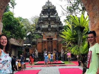 De ingang van Ubud Palace