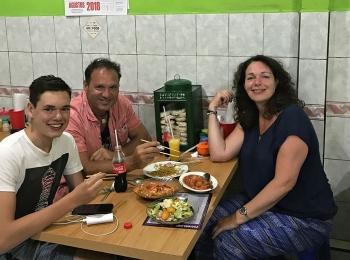 Lekker eten in Restaurant Manalagi