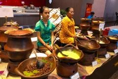 Javaans ontbijt in het Prima Plaza Hotel