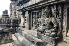 Mooie beelden bij de Prambanan tempel