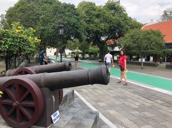 Kanonnen in Fort Vredeburg