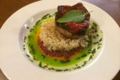 Biologische maaltijd in June Bug Cafe