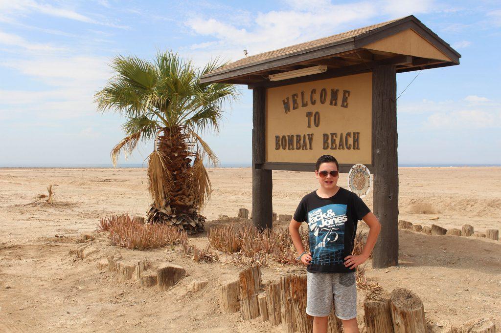 Bombay Beach bij the Salton Sea