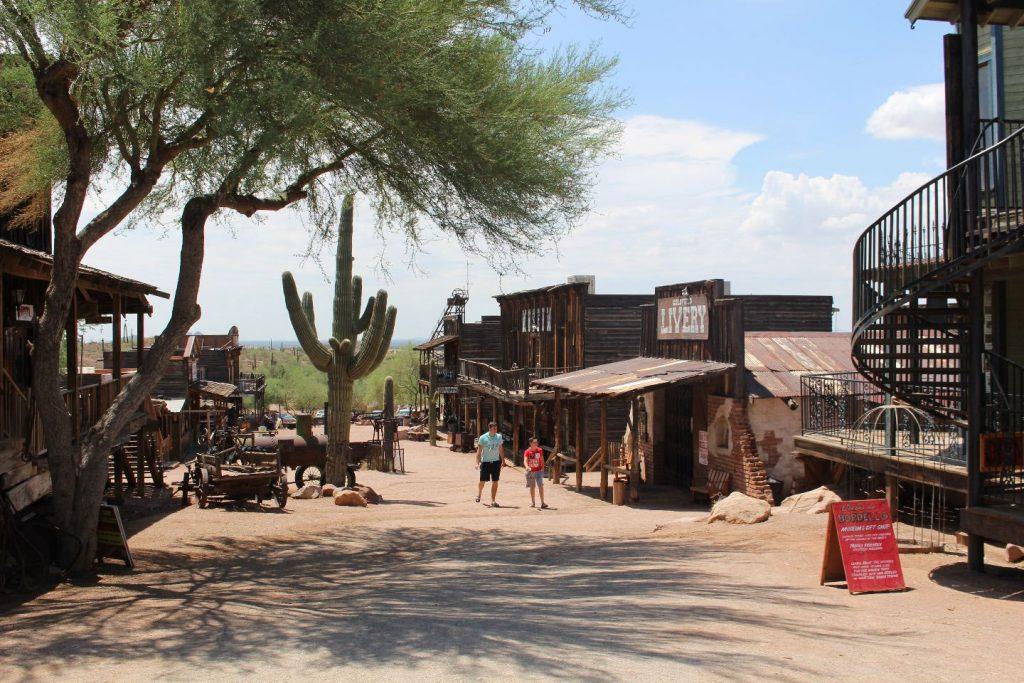 Westernstadje Goldfield Ghosttown