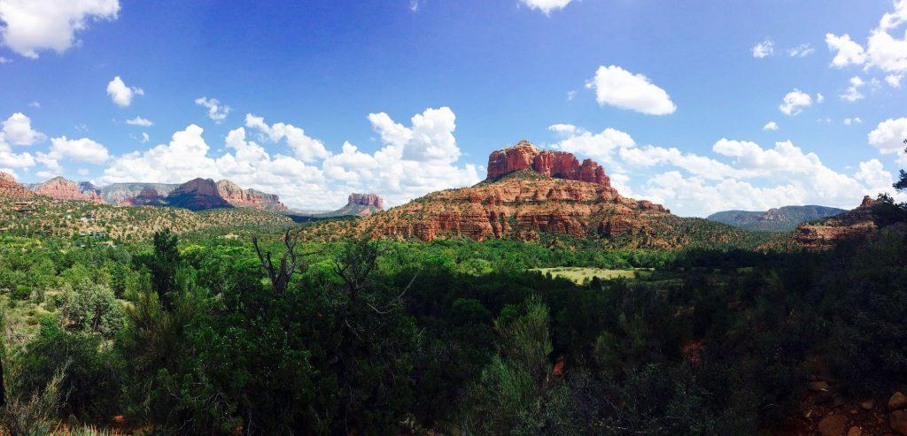 Prachtig uitzicht in Red Rock State Park