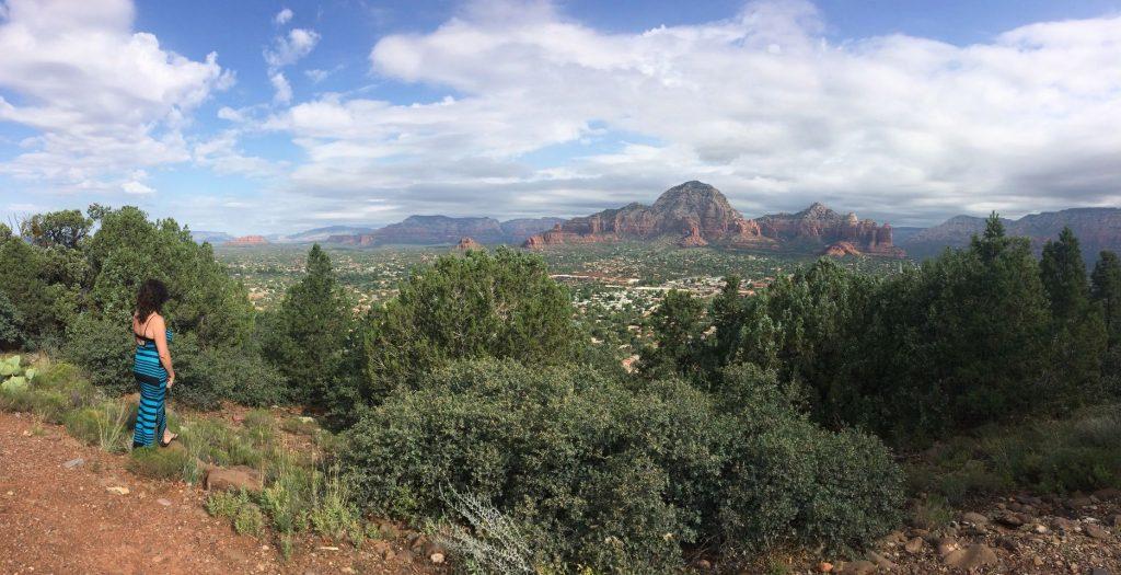 Sky Ranch Lodge in Sedona met uitzicht op the Red Rocks