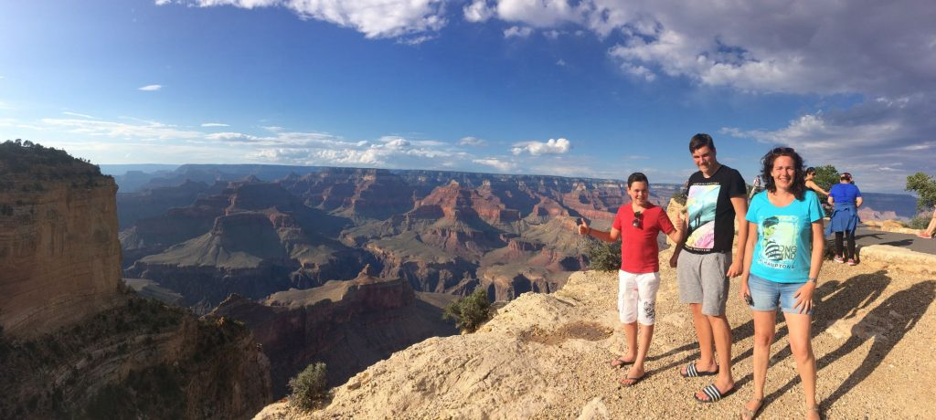 Prachtig uitzicht in the Grand Canyon