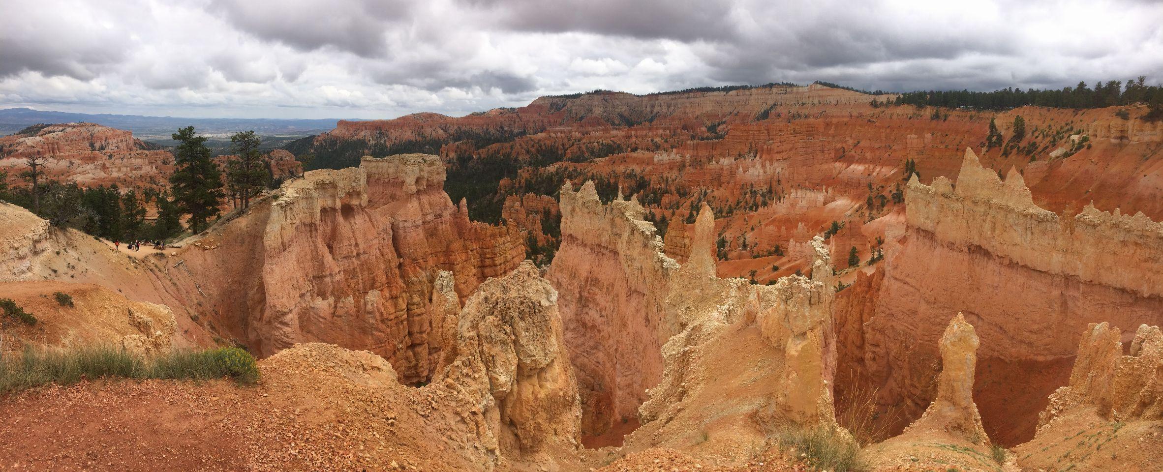 Bryce Canyon lijkt soms net een maanlandschap