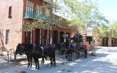 Dag 21 – Via Goldrush towns naar Sonora