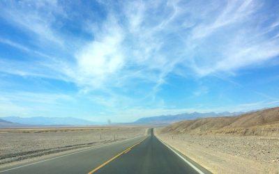 Dag 17 – Autorit door Death Valley naar Mammoth Lakes